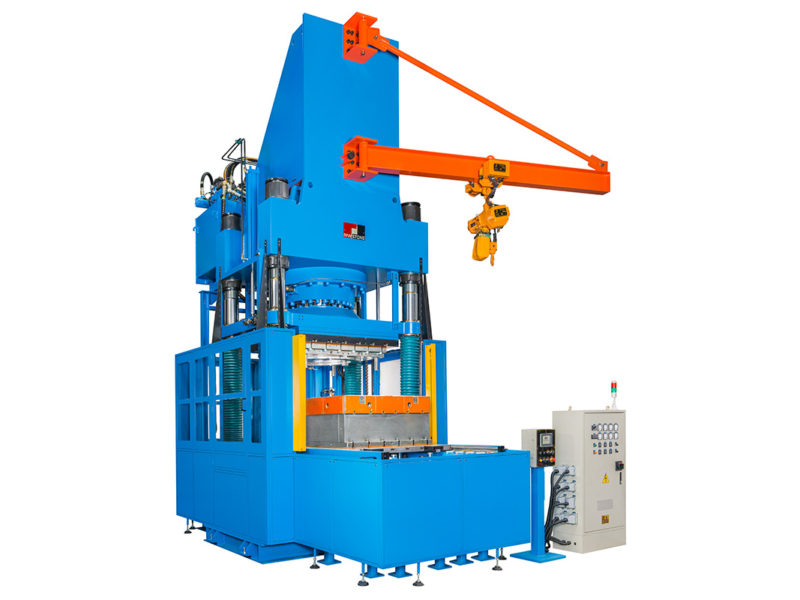 Down-Stroking Type Compression Molding Machine