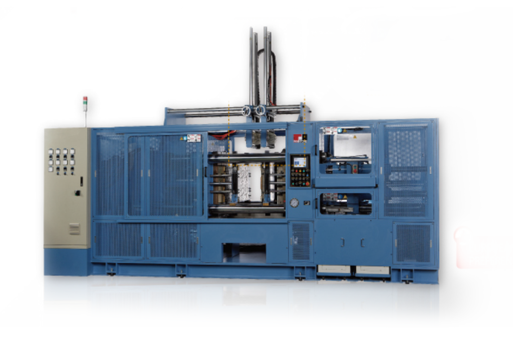 Horizontal Rubber Injection Molding Machine (F.I.F.O)