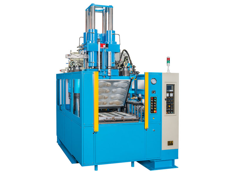 Rubber Injection Molding Machine with 2RT Demolding
