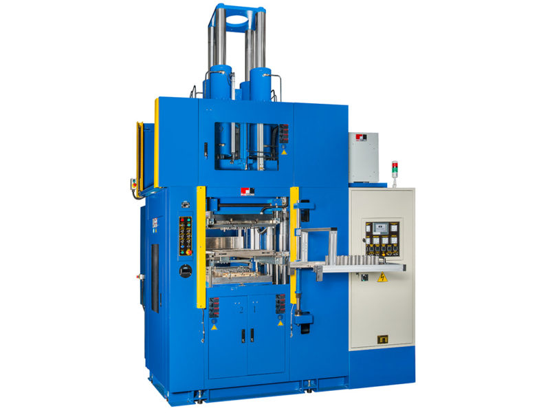 Vertical Injection Molding Machine with Automatic Demolding