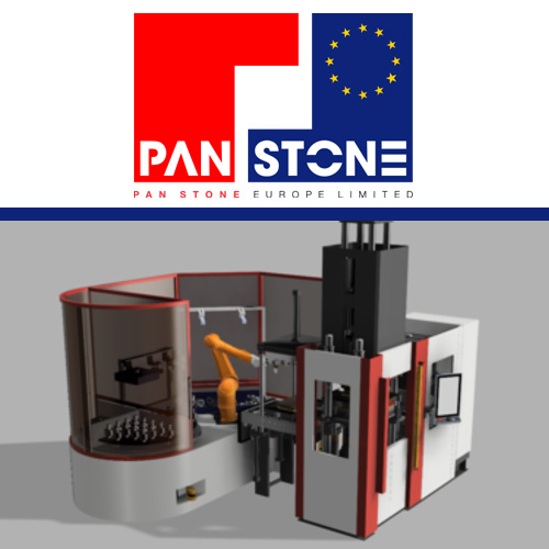 Pan Stone work in cooperation with ROMI on a fully automated production solution